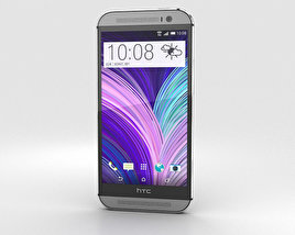 HTC M8 Gray 3D model