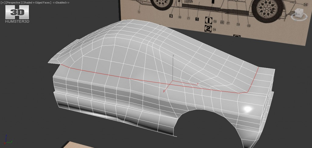 Car 3D Modeling Tutorial 3DS MAX