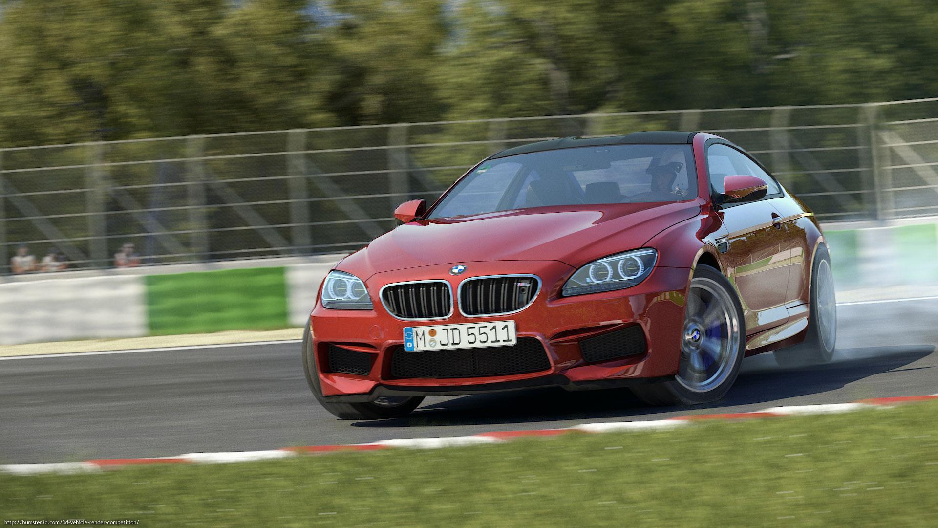 BMW M6 by Roland Wolf