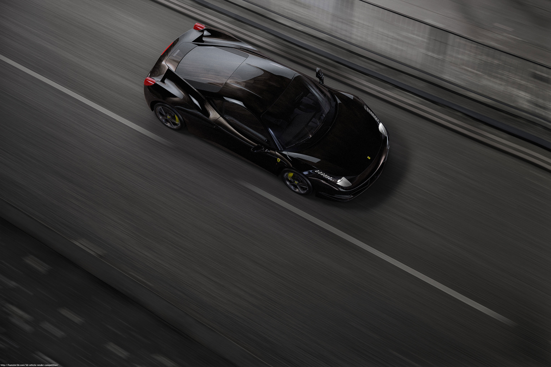 Black Ferrari by Alexandru Cojocaru