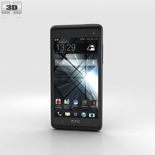 HTC Desire 600 Black 3d model