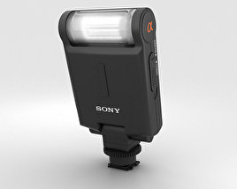Sony HVL-F20M External Flash 3D model