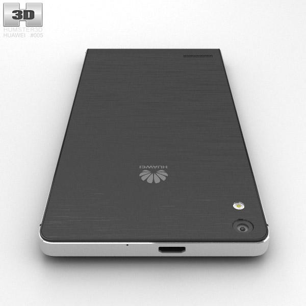 Huawei Ascend P6 S Black 3D model - Hum3D
