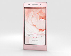 Huawei Ascend P6 S Pink 3D model