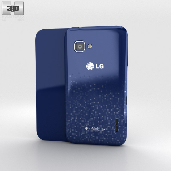 LG Optimus F3Q 3d model