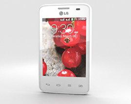 LG Optimus L3 II Dual E435 White 3D model