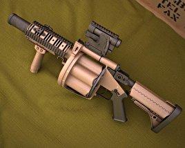Milkor MGL-105 3D model