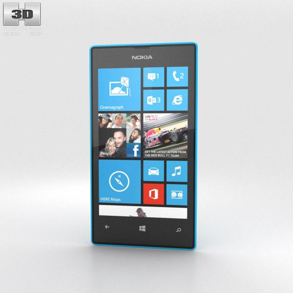 Nokia Lumia 520 Cyan 3d model