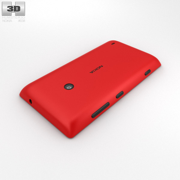 Nokia Lumia 520 Red 3D...
