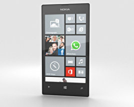 Nokia Lumia 520 White 3D model