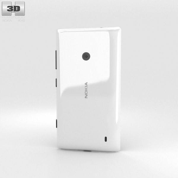 Nokia Lumia 525 White 3d model