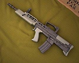 SA80 L85A1 3D model