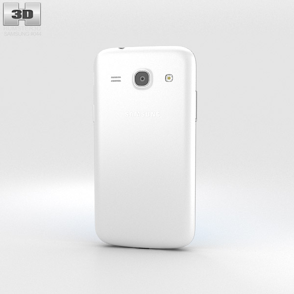 Samsung Galaxy Core Plus White 3d model