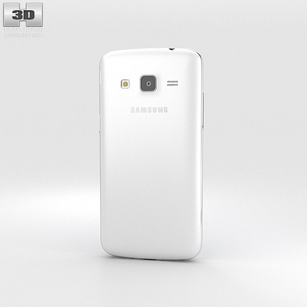 Samsung Galaxy Express 2 White 3d model