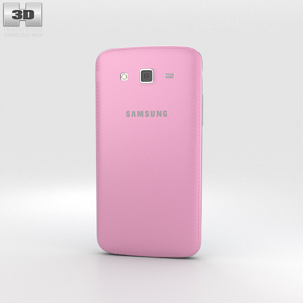 Samsung Galaxy Grand 2 Pink 3d model