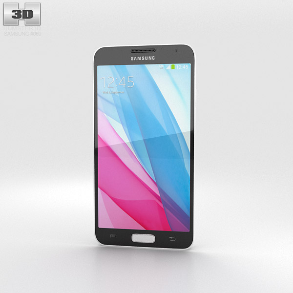 Samsung Galaxy J White 3d model
