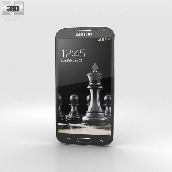 Samsung Galaxy S4 Black Edition 3d model