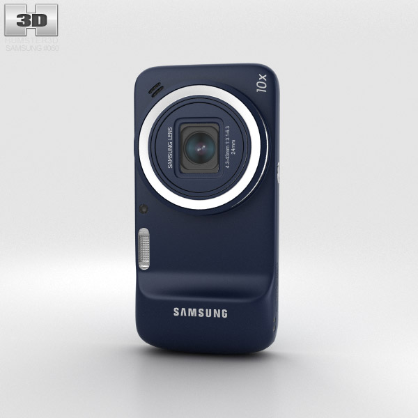 Samsung Galaxy S4 Zoom Black 3d model
