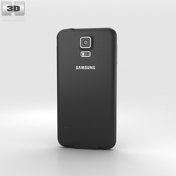 Samsung Galaxy S5 Black 3d model