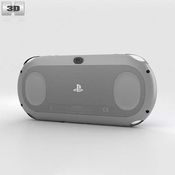 Sony PlayStation Vita Slim 3d model