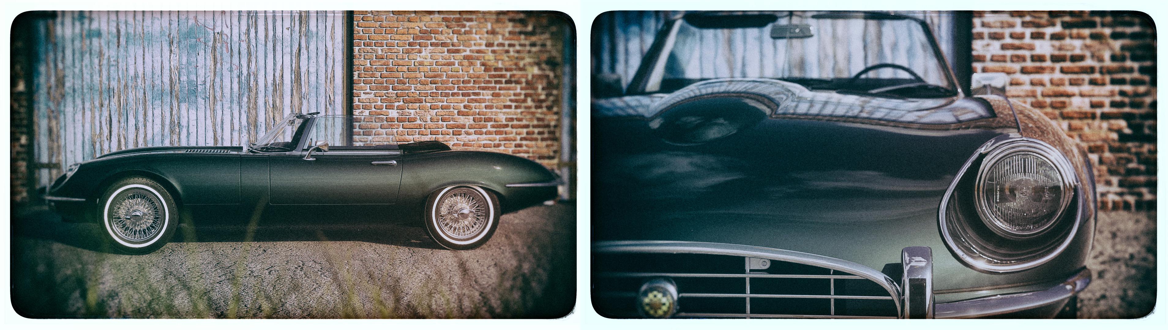 1970 Jaguar E-type by Karim Guelmi