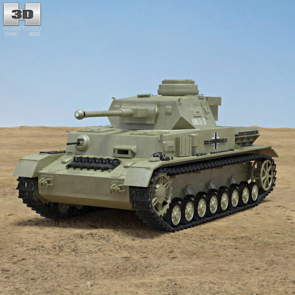 Panzer IV 3d model