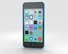 Apple iPhone 5C Blue 3D model