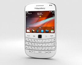 BlackBerry Bold 9900 White 3D model
