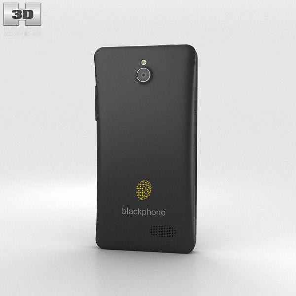 GeeksPhone Blackphone Black 3d model