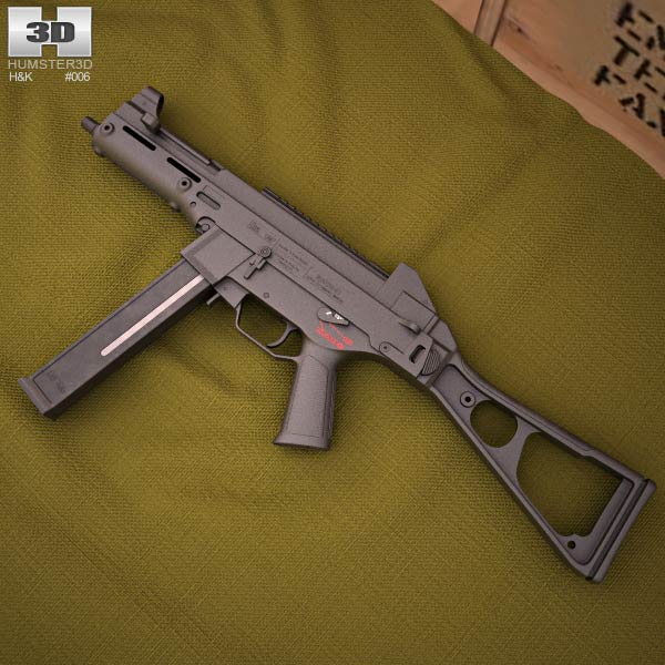 Heckler & Koch UMP 3d model