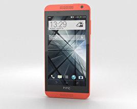 HTC Desire 610 Red 3D model
