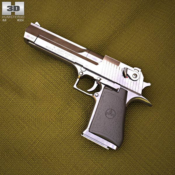 IMI Desert Eagle 3d model