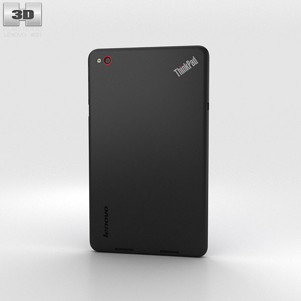 Lenovo ThinkPad 8 Black 3d model