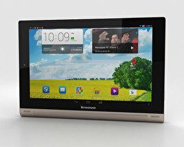 Lenovo Yoga Tablet 10 HD+ Champagne Gold 3D model