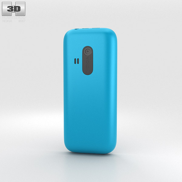 Nokia 220 Cyan 3d model
