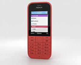 Nokia 220 Red 3D model