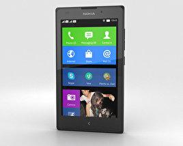 Nokia XL Black 3D model