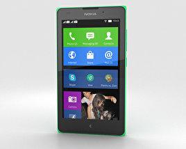Nokia XL Bright Green 3D model