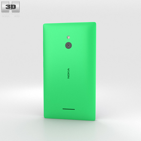 Nokia XL Bright Green 3d model