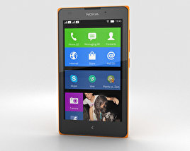 Nokia XL Orange 3D model