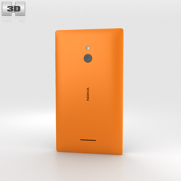 Nokia XL Orange 3d model