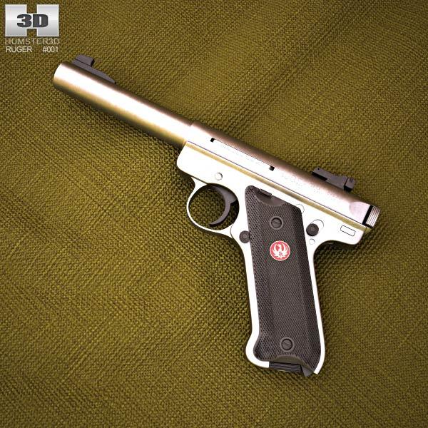 Ruger MK III Target 3d model