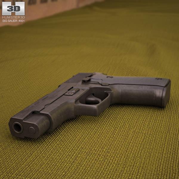 SIG Sauer P226 3d model