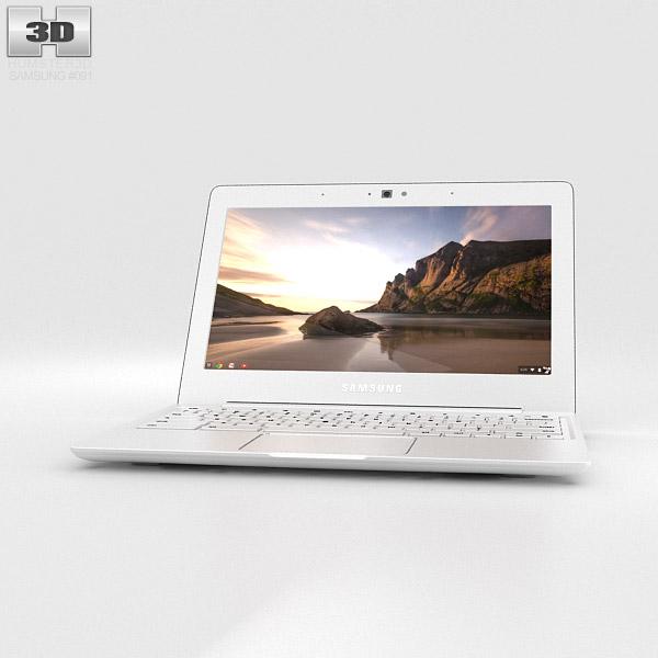 Samsung Chromebook 2 11.6 inch Classic White 3d model