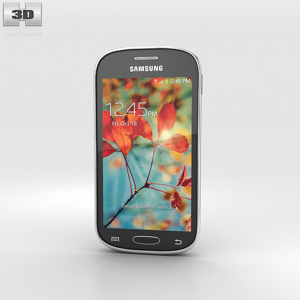 Samsung Galaxy Light 3d model