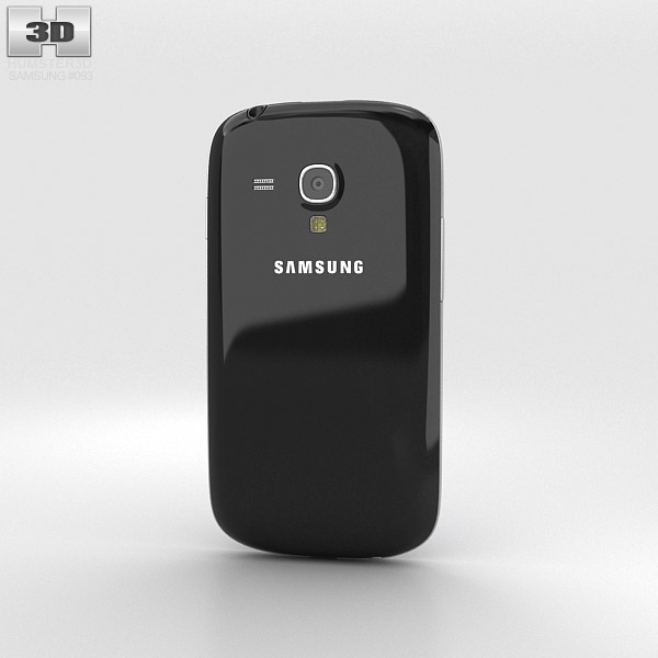 Samsung I8200 Galaxy S III Mini VE Black 3d model