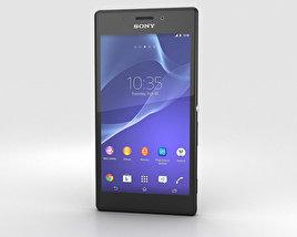 Sony Xperia M2 Black 3D model