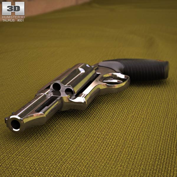Taurus Judge Magnum 3d model