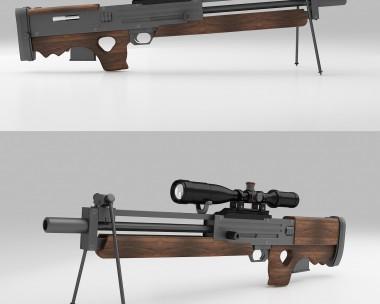 Walther WA 2000 sniper rifle