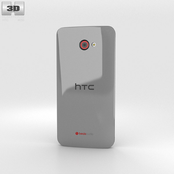 HTC Butterfly S Gray 3d model
